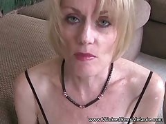 GILF Says I Have a crush on Cock!