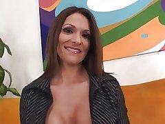 Well-endowed Hot MILF Kristine Madison 3