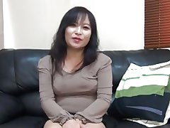 47 year superannuated Asian MILF creampie