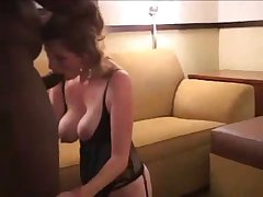 Characterless wife gets fucked hard plus creampied by bbc