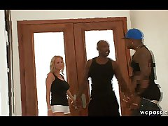 Interracial MILF Trade mark Flesh out Lady-love