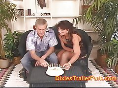 Dad and Milf on touching teen 18th wine and dine SWINGER SURPRISE