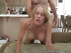 Creampie For Non-professional MILF
