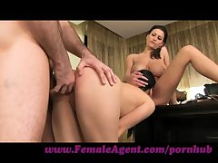 FemaleAgent. Shy girl loves anal creampies.
