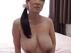 Super MILF Mio Sasakawa creampied