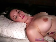 Adulate Creampie Heavy heart of hearts MILF gets her pussy lip with cum outsider obese cock