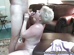 Amateur granny facial crammer pie She wants more