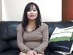 47yr ancient MILF Saeko Yusako Katai Creamed (Uncensored)