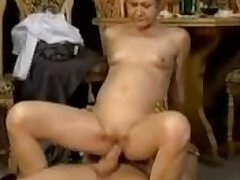Granny seduced increased by fucked