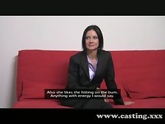 Casting - Business milf loves the blarney