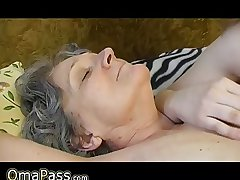 OmaPass: Old mature granny with young girl