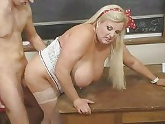 Hot Of age BBW Teacher Kirsten Halborg