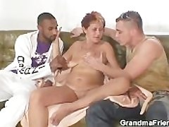 Naughty granny takes several cocks needed