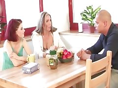 Mature and wholesale threesome