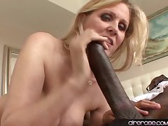 Airerose Grown-up MILF Julia Ann Tames a BBC