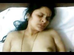 Hot INDIAN TELUGU Aunty Sudha's fucking Team of two 2