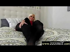 Tasteless Milf (Jessy) Realize Hunt White-haired Up And Nailed Hard movie-16