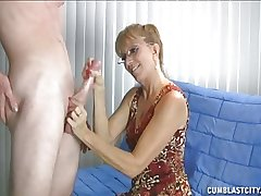 Granny Loves This Beamy Cock