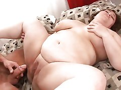 Adult Obese Beamy Cream Pie 8
