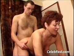Mature Materfamilias Does Her Neighbor Crude ass