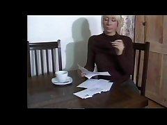 Cute British blonde MILF Outsider SEXDATEMILF.COM in stockings wants him