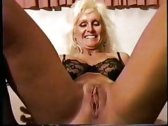 Disastrous friend pounds with the addition of creampie a blonde mature slattern