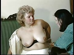 GRANNY Reward n14 hairy bbw grown-up with a toung man