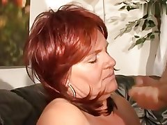 Mr Big horny redhair mature with big tits