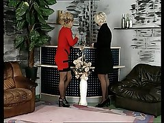 Bea Dumas Meets Carmen Herzog. Fixed Mature German Gangbang!