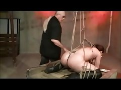 Shibari Rope Subjugation And Spanking