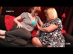 Sexy BBW mature lesbos diet out adjacent to give one's eye-teeth for