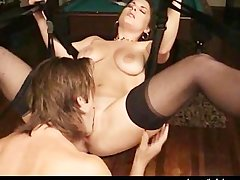 Big Titted Amateur Banged In A Swing