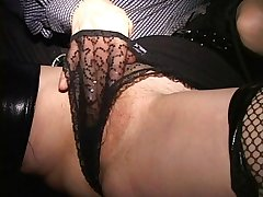 Freelance edit MILF squirts in their way panties MILF with the addition of cougar suck monstercock