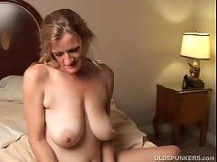 Slutty of age trailer trash loves to fuck