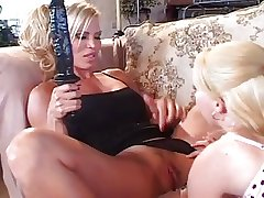 Matured Busty Blonde Lesbian