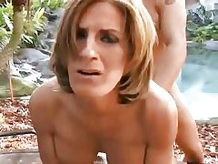 XXX mature outdoor in pussy with an increment of ass