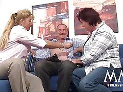 MMV FILMS German Adult Threesome