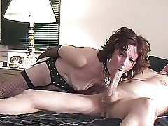 Exhilarated Grown-up  LOVES SUCKING Broad in the beam COCKS