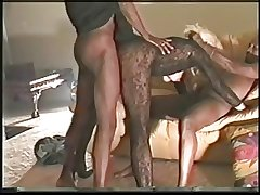 Grown-up Wife Fucks Hung Inky Mendicant