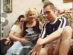 Comme ci Of age Takes Two Cocks In one go