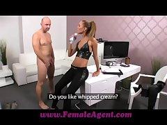 FemaleAgent Lob creampie for teasing agent