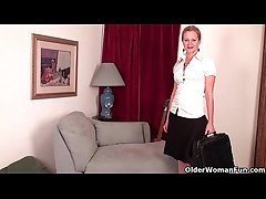 Business milf needs voluptuous backing