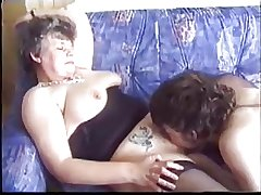 Mature seduces young guy anent porn