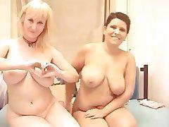 Mature Lesbian Cam Woman Strapon Lovemaking