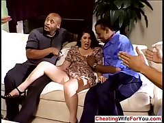 Mature wed gangbanged by bbc