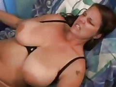 full-grown chubby natural tits fucked