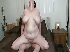 Sexy BBW mature with huge tits property fucked