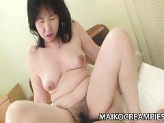 Sumie Nagai - Horseshit Addicted JAV Of age Riding A Young Guy
