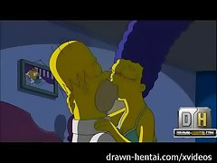 Simpsons Porn - Coition Night
