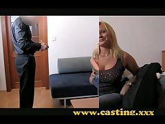 Casting - Chubby with an increment of loves it round the ass